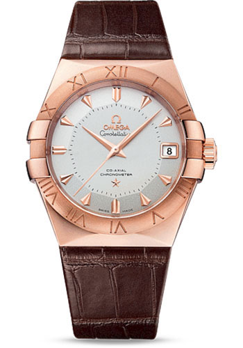 Omega Watches - Constellation Co-Axial 38 mm - Sedna Gold - Style No: 123.53.38.21.02.001