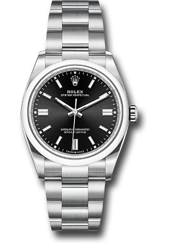 Rolex Watches - Oyster Perpetual No-Date 36mm - Domed Bezel - Style No: 126000 bkio