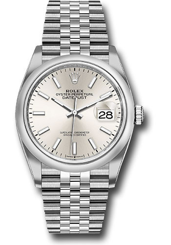 Rolex Watches - Datejust 36 Steel - Domed Bezel - Jubilee - Style No: 126200 sij