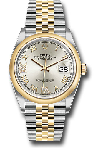 Rolex Watches - Datejust 36 Steel and Yellow Gold - Domed Bezel - Jubilee - Style No: 126203 sdr69j
