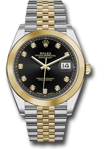 Rolex Watches - Datejust 41 Steel and Yellow Gold - Smooth Bezel - Jubilee - Style No: 126303 bkdj
