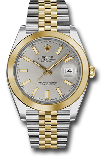 Rolex Watches - Datejust 41 Steel and Yellow Gold - Smooth Bezel - Jubilee - Style No: 126303 sij