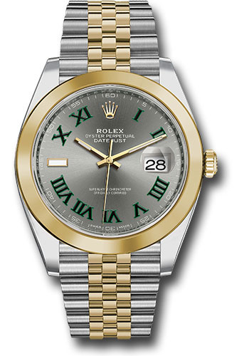 Rolex Watches - Datejust 41 Steel and Yellow Gold - Smooth Bezel - Jubilee - Style No: 126303 slgrj