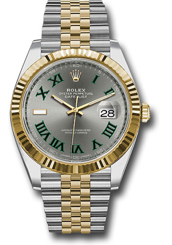 Rolex Watches - Datejust 41 Steel and Yellow Gold - Fluted Bezel - Jubilee - Style No: 126333 slgrj