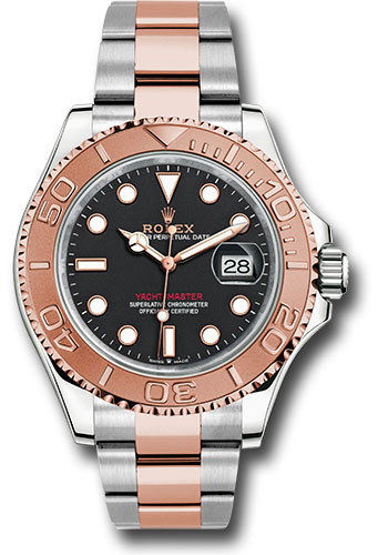 Rolex Watches - Yacht-Master 40 mm - Steel and Everose Gold - Style No: 126621 bk