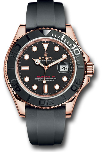 Rolex Watches - Yacht-Master 40 mm - Everose Gold - Style No: 126655 bk
