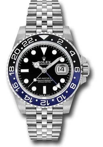 Rolex Watches - GMT-Master II Steel - Style No: 126710BLNR