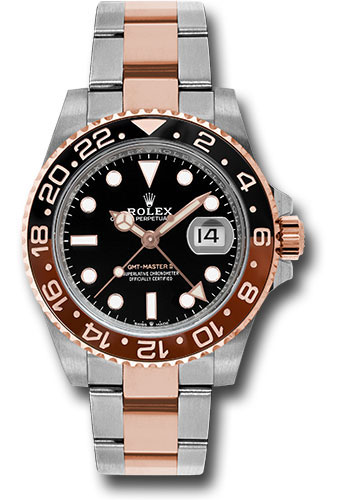 Rolex Watches - GMT-Master II Steel and Everose Gold - Style No: 126711CHNR bk