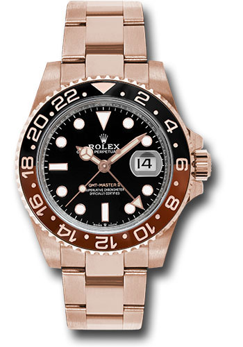 Rolex Watches - GMT-Master II Everose Gold - Style No: 126715CHNR bk
