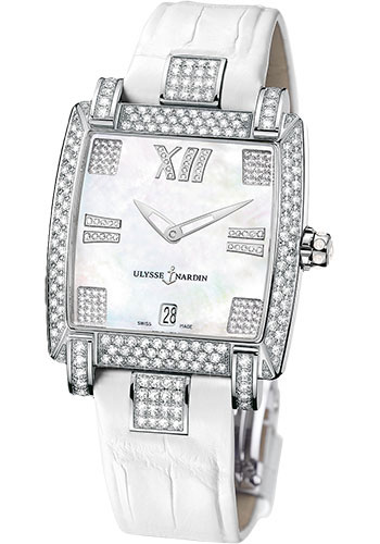 Ulysse Nardin Watches - Caprice White Gold - Strap - Style No: 130-91AC/301