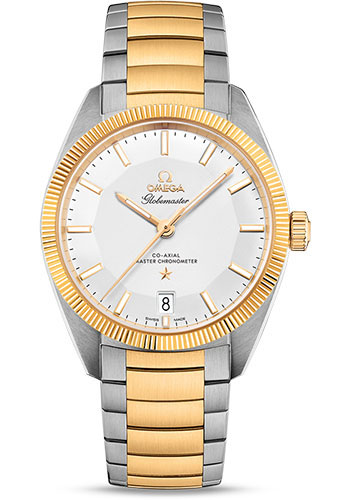 Omega Watches - Constellation Globemaster 39 mm - Steel and Yellow Gold - Style No: 130.20.39.21.02.001