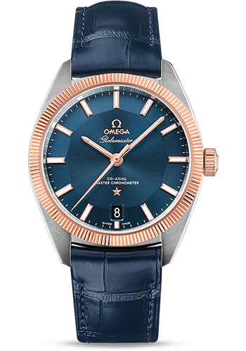 Omega Watches - Constellation Globemaster 39 mm - Steel and Sedna Gold - Style No: 130.23.39.21.03.001