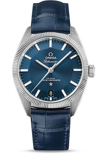 Omega Watches - Constellation Globemaster 39 mm - Stainless Steel - Style No: 130.33.39.21.03.001