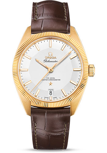 Omega Watches - Constellation Globemaster 39 mm - Yellow Gold - Style No: 130.53.39.21.02.002