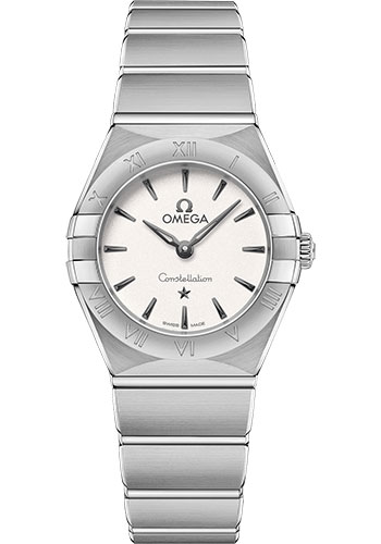 Omega Watches - Constellation Manhattan Quartz 25 mm - Stainless Steel - Style No: 131.10.25.60.02.001