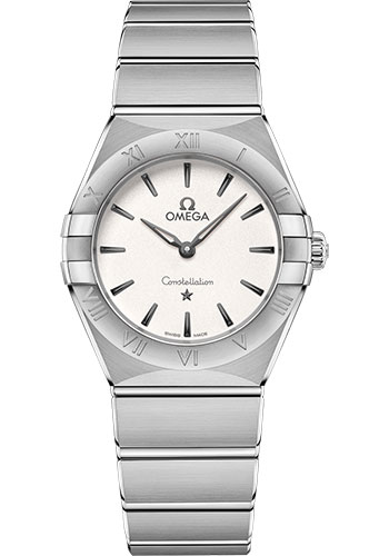 Omega Watches - Constellation Manhattan Quartz 28 mm - Stainless Steel - Style No: 131.10.28.60.02.001
