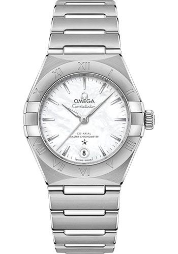 Omega Watches - Constellation Manhattan 29 mm - Stainless Steel - Style No: 131.10.29.20.05.001