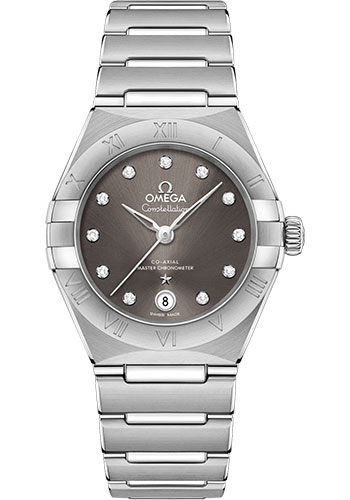Omega Watches - Constellation Manhattan 29 mm - Stainless Steel - Style No: 131.10.29.20.56.001