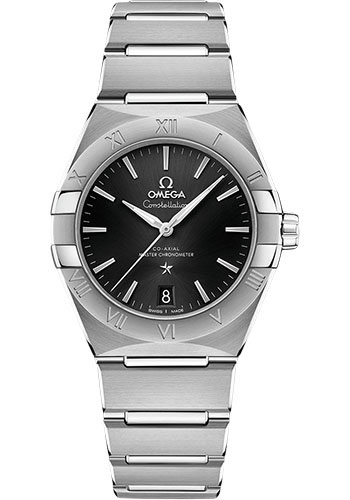 Omega Watches - Constellation Manhattan 36 mm - Stainless Steel - Style No: 131.10.36.20.01.001