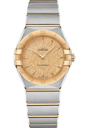 Omega Watches - Constellation Manhattan Quartz 28 mm - Steel and Yellow Gold - Style No: 131.20.28.60.08.001