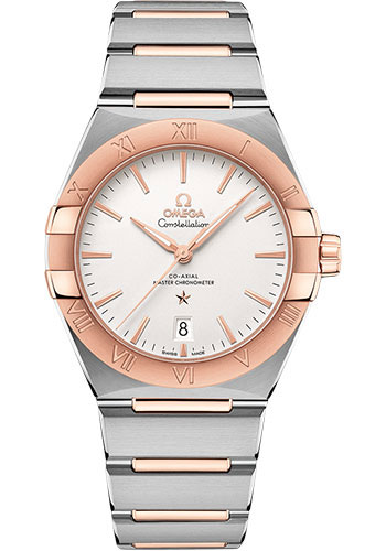 Omega Watches - Constellation Manhattan 39 mm - Steel and Sedna Gold - Style No: 131.20.39.20.02.001