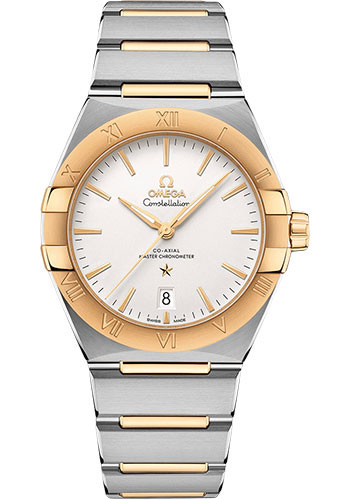 Omega Watches - Constellation Manhattan 39 mm - Steel and Yellow Gold - Style No: 131.20.39.20.02.002