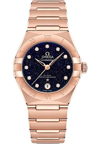 Omega Watches - Constellation Manhattan 29 mm - Sedna Gold - Style No: 131.50.29.20.53.003