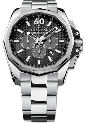 Corum Watches - Admiral AC-One 45 mm - Chronograph - Titanium - Style No: A132/01975 - 132.201.04/V200 AN10