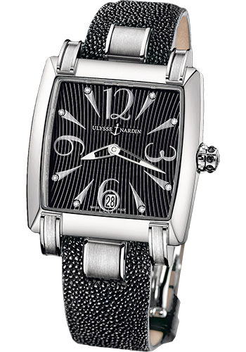 Ulysse Nardin Watches - Caprice Stainless Steel - Strap - Style No: 133-91/06-02