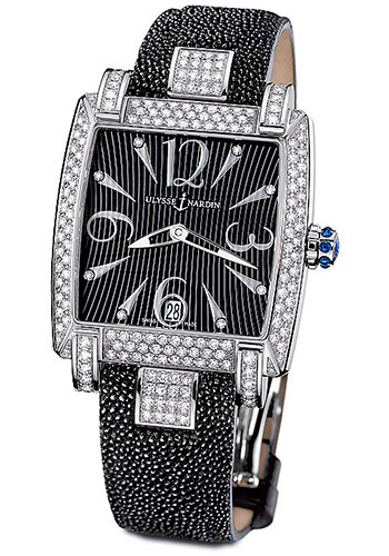 Ulysse Nardin Watches - Caprice Stainless Steel - Strap - Style No: 133-91AC/06-02