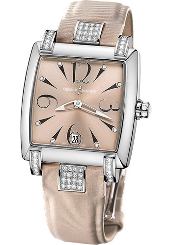 Ulysse Nardin Watches - Caprice Stainless Steel - Strap - Style No: 133-91C/06-05