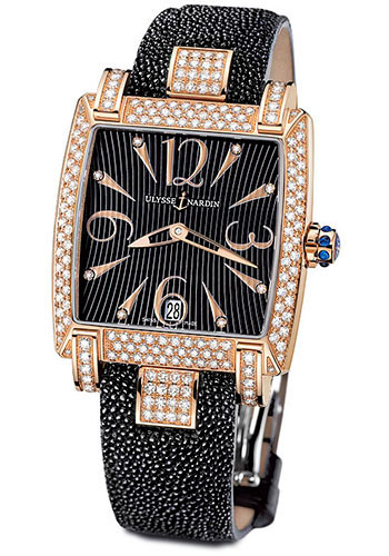Ulysse Nardin Watches - Caprice Rose Gold - Strap - Style No: 136-91AC/06-02