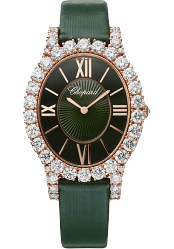 Chopard Watches - L Heure Du Diamant Oval Medium - Style No: 139383-5009