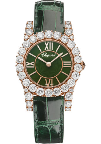 Chopard Watches - L Heure Du Diamant Round Small - Style No: 13a377-5008