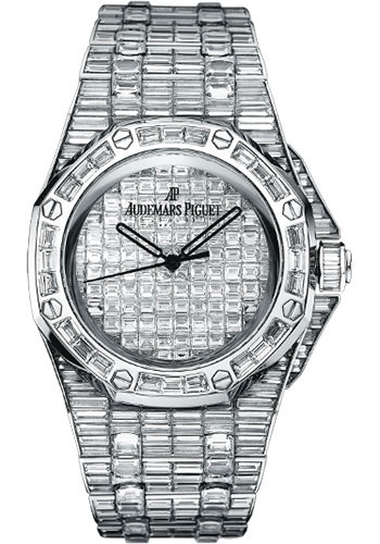 Audemars Piguet Watches - Royal Oak Offshore Baguette - Style No: 15130BC.ZZ.8042BC.01