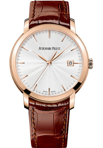 Audemars Piguet Watches - Jules Audemars Selfwinding - Pink Gold - Style No: 15170OR.OO.A809CR.01