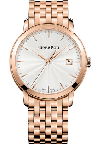 Audemars Piguet Watches - Jules Audemars Selfwinding - Pink Gold - Style No: 15172OR.OO.1270OR.01
