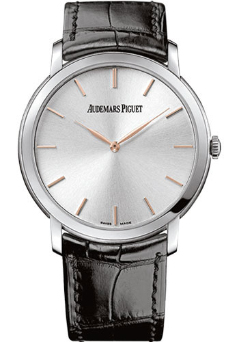 Audemars Piguet Watches - Jules Audemars Extra-Thin - Style No: 15180BC.OO.A002CR.01
