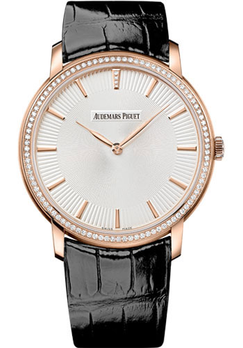 Audemars Piguet Watches - Jules Audemars Selfwinding - Pink Gold - Style No: 15182OR.ZZ.A102CR.01