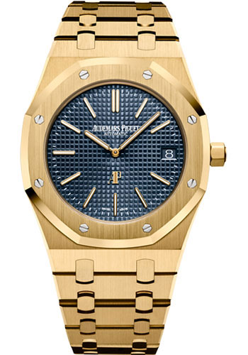 Audemars Piguet Watches - Royal Oak Extra-Thin - Yellow Gold - Style No: 15202BA.OO.1240BA.01.A