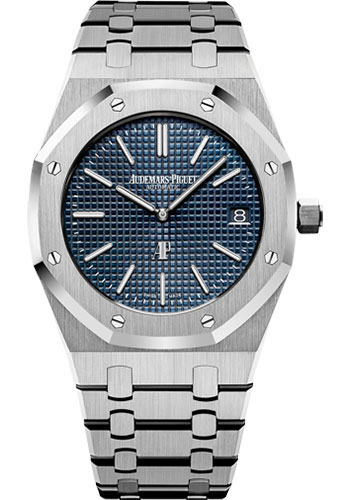 Audemars Piguet Watches - Royal Oak Extra-Thin - Stainless Steel - Style No: 15202ST.OO.1240ST.01.A
