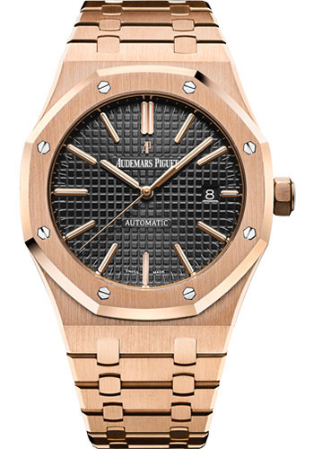 Audemars Piguet Watches - Royal Oak Self Winding 41mm - Pink Gold - Style No: 15400OR.OO.1220OR.01