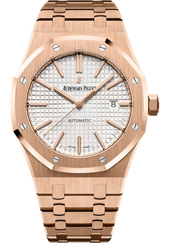 Audemars Piguet Watches - Royal Oak Self Winding 41mm - Pink Gold - Style No: 15400OR.OO.1220OR.02