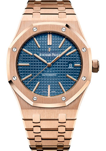 Audemars Piguet Watches - Royal Oak Self Winding 41mm - Pink Gold - Style No: 15400OR.OO.1220OR.03