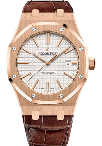 Audemars Piguet Watches - Royal Oak Self Winding 41mm - Pink Gold - Style No: 15400OR.OO.D088CR.01