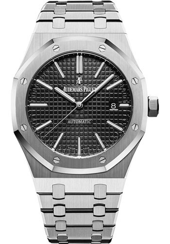 Audemars Piguet Royal Oak Selfwinding Watch 41mm Stainless Steel Black Dial Calibre 3120 79420bc Zz 9190bc 01
