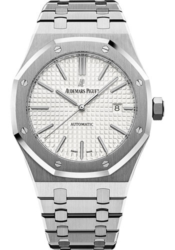 Audemars Piguet Royal Oak Selfwinding Watch 41mm Stainless Steel Silver Dial Calibre 3120 15400st Oo 1220st 02