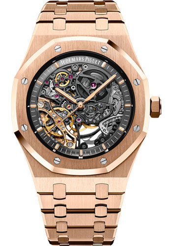 Audemars Piguet Watches - Royal Oak Double Balance Wheel Openworked - Style No: 15407OR.OO.1220OR.01