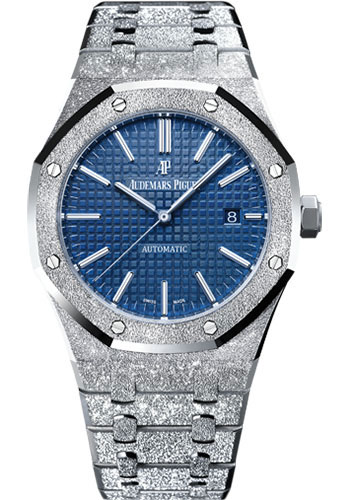 Audemars Piguet Watches - Royal Oak Self Winding 41mm - White Gold - Style No: 15410BC.GG.1224BC.01