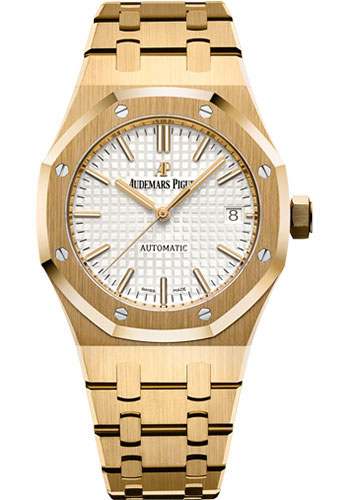Audemars Piguet Watches - Royal Oak Self Winding 37mm - Yellow Gold - Style No: 15450BA.OO.1256BA.01